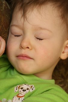 Free Sleepy Child Royalty Free Stock Photo - 2060345