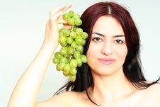 Free Grapes Jewelry Royalty Free Stock Photos - 2060618