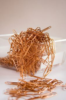 Free Paper Clips Royalty Free Stock Photo - 2060825