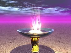 Free Chalice Of The Fire Royalty Free Stock Image - 2062606