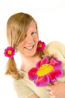 Free Flower Girl Royalty Free Stock Photos - 2062918