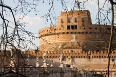 Castle ST. Angelo Royalty Free Stock Photo