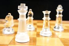 Free Chess Game - Focus On The King Royalty Free Stock Image - 2064696