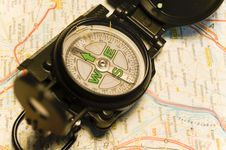 Free Compass Stock Photography - 2064732