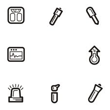 Plain Icon Series - Medicine Stock Images