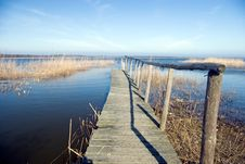 Free A Wooden Jetty At A Lake, Yell Stock Images - 2065004
