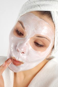 Free Beauty Mask 19 Stock Image - 2065401