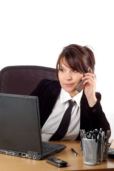 Free Businesswoman At Desk 16 Stock Images - 2065674