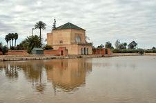 Menara Gardens In Marrakech Royalty Free Stock Photo
