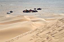 Dunes Of Tinfou, Zagora Royalty Free Stock Images