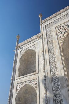 Free Taj Mahal Royalty Free Stock Photos - 2066048