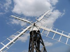 Free The Old Windpump 2 Stock Image - 2066291