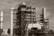 Free Black & White Power Plant Stock Images - 2066504