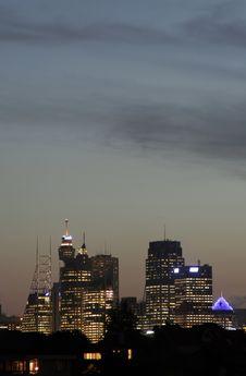Free Sydney Sunset Royalty Free Stock Photography - 2066907