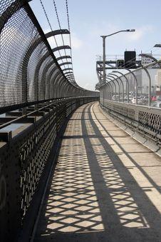 Free Sydney Harbor Bridge Walkway Stock Image - 2067161