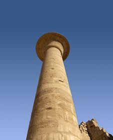 Free Column In Karnak Temple Stock Photo - 2067220