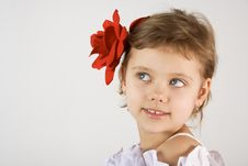Free Little Girl Royalty Free Stock Photos - 2068018