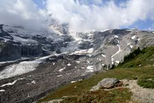 Free Mount Rainier Glacier Stock Photography - 2068042