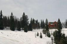 Free Mountain Hut Royalty Free Stock Photos - 2068328