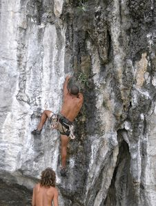 Free Climbing Royalty Free Stock Images - 2068359