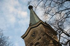 Free Church Clock Stock Photography - 2068462