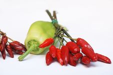 Free Peppers Royalty Free Stock Photos - 2068478