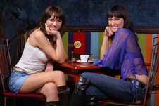 Free Chatting Girls Stock Image - 2068611