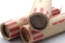 Free Coin Wraps Royalty Free Stock Photo - 2068835