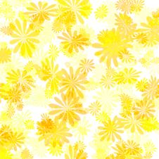 Free Yellow Flower Gift Paper Stock Photo - 2069120