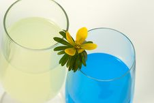 Alcohol-free Power Drinks Stock Photos