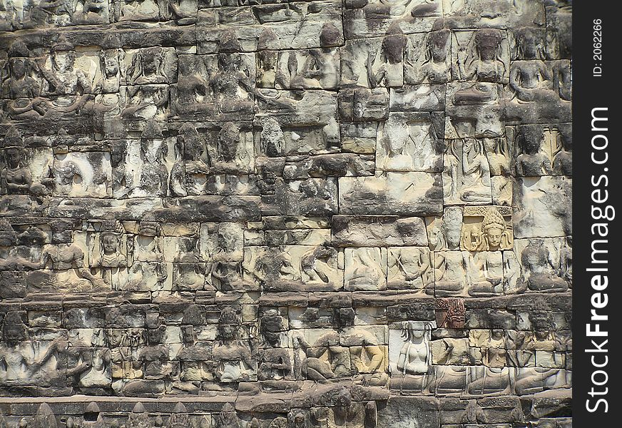 Wall of the leper king