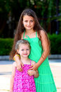 Free Two Little Girls ( Sisters ) Stock Photos - 20604943