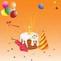 Free Birthday Greeting Card Royalty Free Stock Image - 20606526