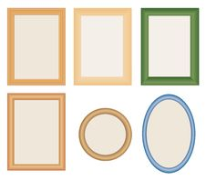 Free Many Different Photo Frames Stock Image - 20600331