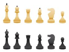 Free Black And White Chess Stock Photos - 20600343