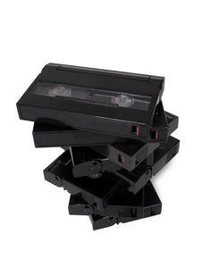 Free Casette Digital Video Tapes V8 Royalty Free Stock Image - 20600516