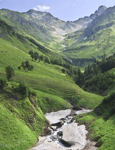 Free View Of Mountain Gorge Stock Image - 20600981