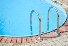 Free Swimming Pool Steps Royalty Free Stock Image - 20601286