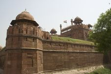 Free Red Fort, New Delhi Stock Photo - 20601350