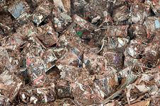 Free Stack Of  Waste  At Recycling Yunkyard Stock Images - 20601654