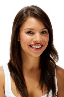 Free Beautiful Happy Young Female Portrait Royalty Free Stock Photos - 20602058