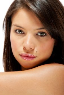 Free Beautiful  Young Female Portrait Stock Photos - 20602113