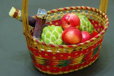 Free Fruits And Basket Royalty Free Stock Photo - 20602455
