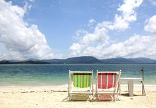 Free Beach Chair Stock Photography - 20602842
