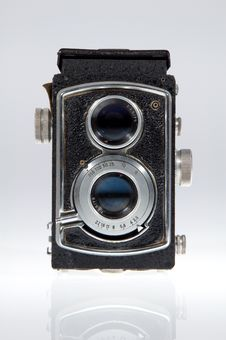 Free Old Camera Front Stock Photo - 20603170