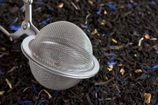 Free Scented Tea And Tea Ball Royalty Free Stock Photo - 20603545