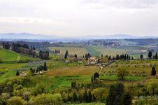 Free Tuscany Landscape Royalty Free Stock Image - 20603556