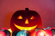 Halloween Lantern Stock Image