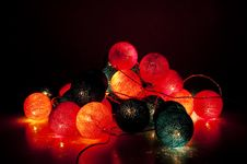 Free Electric Garland Royalty Free Stock Photos - 20603668