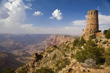 Free Grand Canyon Watch Tower Stock Images - 20604134